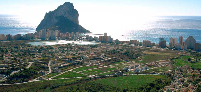 Building plots and land Calpe