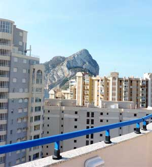 Vistas al Pe�on de Ifach